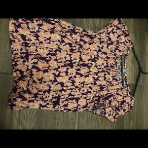 Old navy top floral